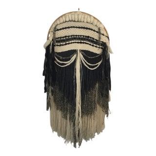 Vintage Bohemian Hanging Textile Art