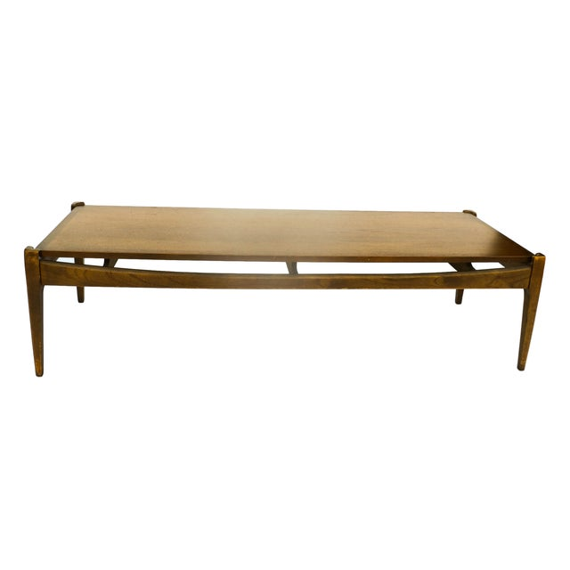 Bassett Mid-Century Modern Coffee Table - Image 3 of 10