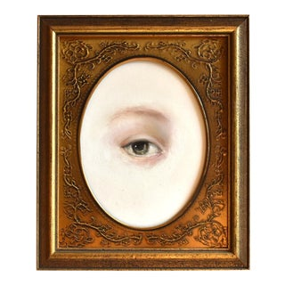 Contemporary Lover's Eye Painting by S. Carson For Sale