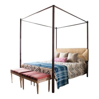 Perriand 4 Poster Bed King For Sale