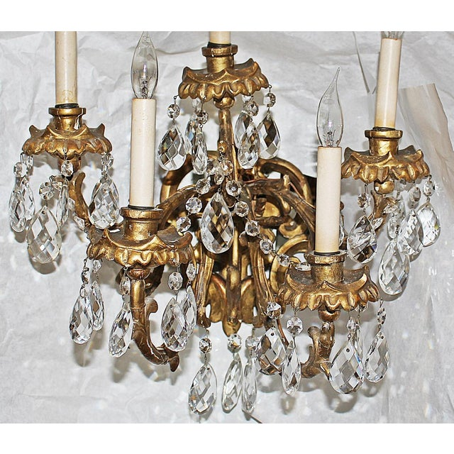 Louis XV Italian Carved Sconces For Sale - Image 3 of 8