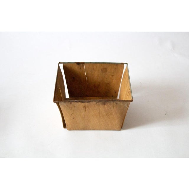 1950s 1950s Boho Chic Style Gold Metal Berry Baskets - Set of 3 For Sale - Image 5 of 10