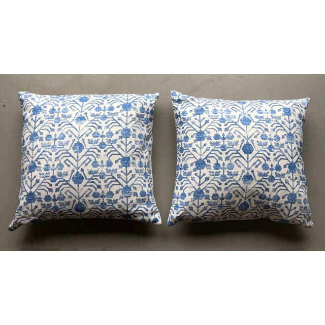 Zak & Fox Khotan Pillows - A Pair For Sale In Charleston - Image 6 of 6
