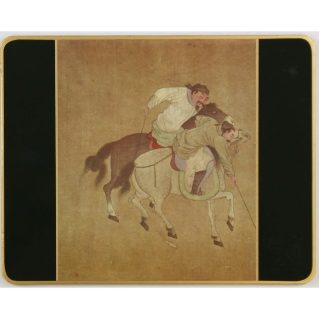 Set of (10) Ming Polo English Scully & Scully Park Ave Plate Mats!~ For Sale In New York - Image 6 of 7