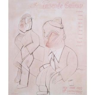 1989 Tasende Gallery 10th Anniversary Print by Jose Luis Cuevas