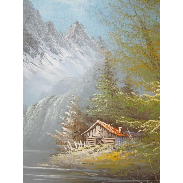 Vintage Oil Painting Signed - Image 5 of 9
