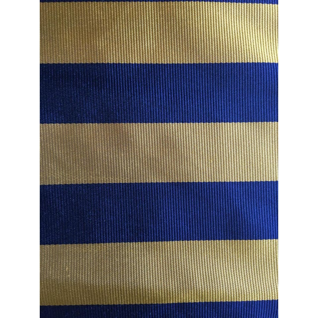 Ralph Lauren Moving Sale - Make and Offer - Everything Must Go - Ralph Lauren Tie Silk in a Classic Club Stripe For Sale - Image 4 of 4