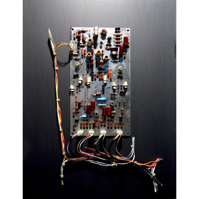 Mid Century Component Art Vintage Circuitry Wall Sculpture / Collage. Bill Reiter For Sale - Image 13 of 13