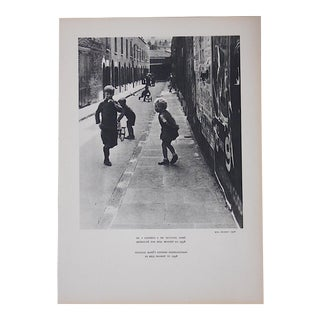Vintage Heliogravure Photo By Bill Brandt-Verve-Paris-1939 For Sale