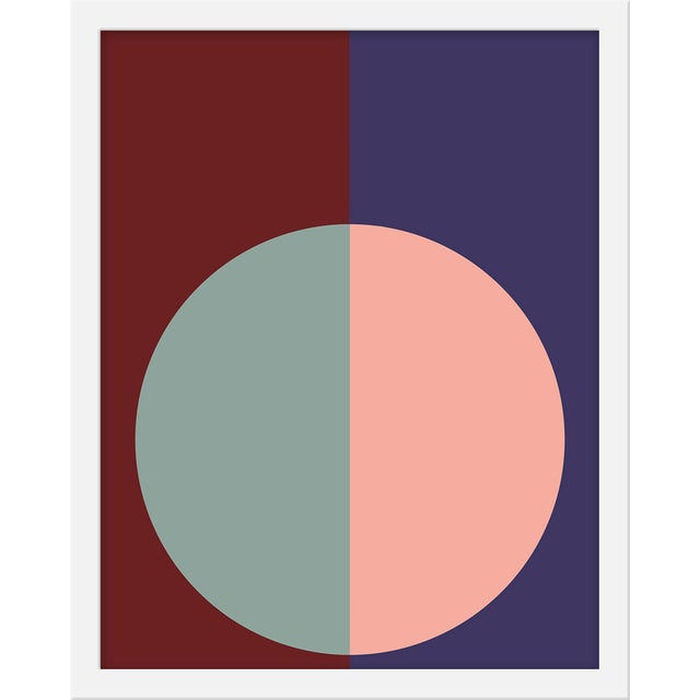 "Contemporary Small ""Burgundy & Purple Forever"" Print by Stephanie Henderson, 16"" X 20"" For Sale - Image 3 of 3"