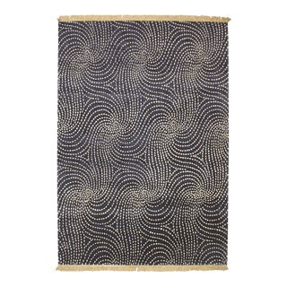 ModernArt Collection - Customizable Sapphire Rug (4x6) For Sale