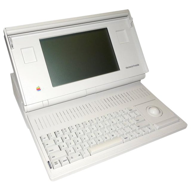"""Rare. The First Macintosh Portable Computer. As New. Complete. Designer Icon. Code Name: """"Laguna"""" For Sale"""