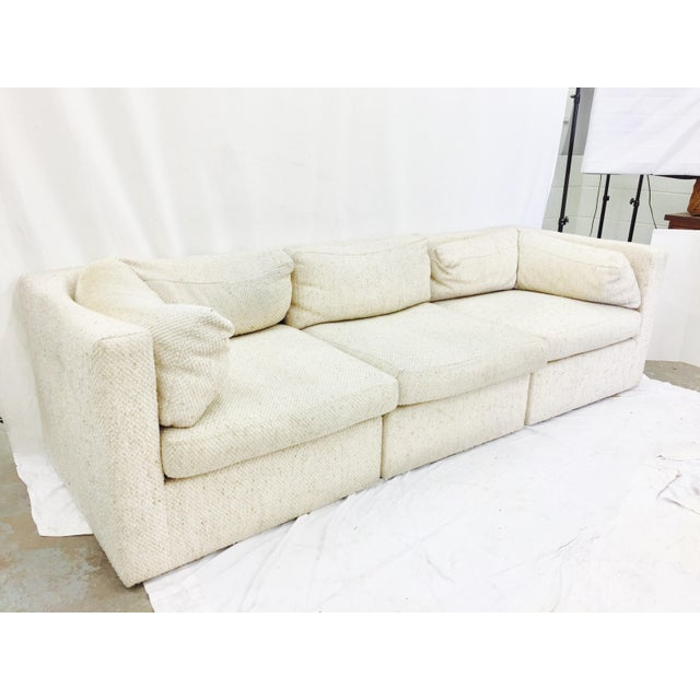 Vintage Mid-Century Modern Milo Baughman Sofa - Image 4 of 11