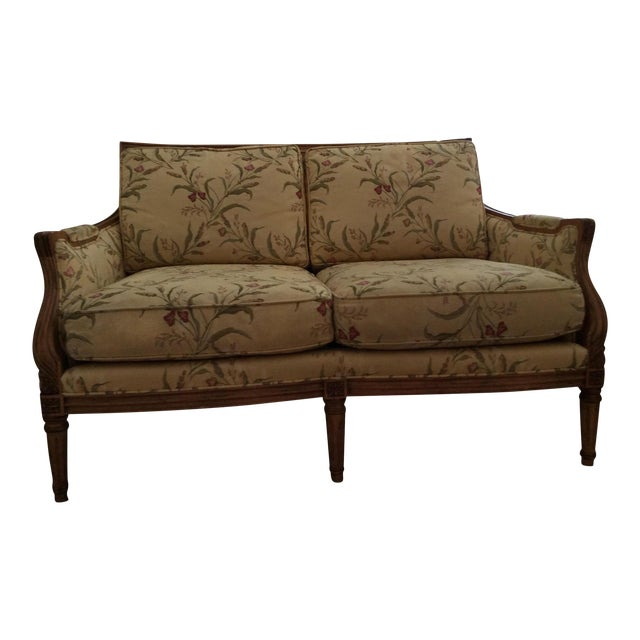 Century Furniture French Settee For Sale
