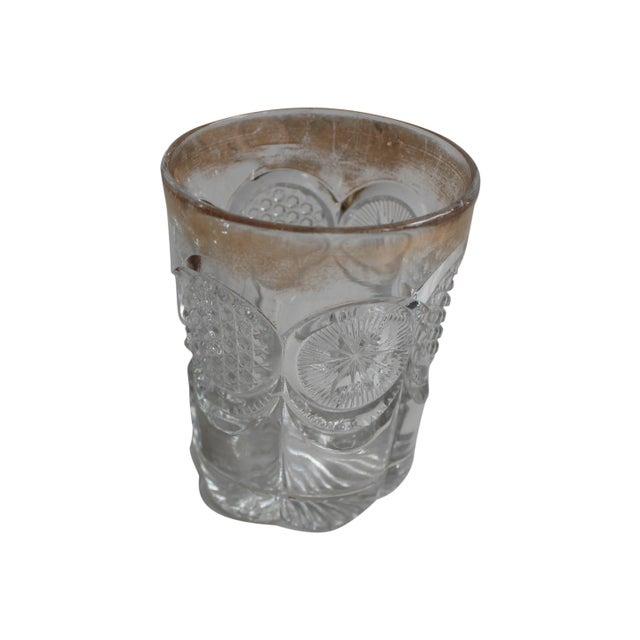 Glass Vintage Prescut Gold Rimmed Glasses - Set of 4 For Sale - Image 7 of 7
