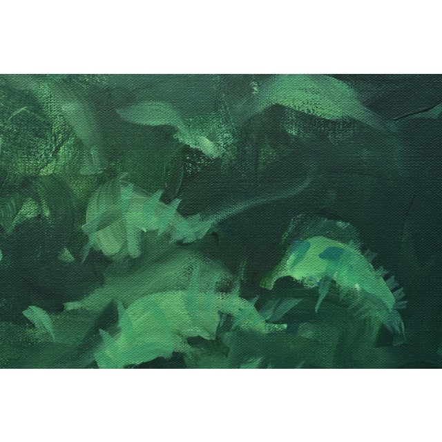 "2010s Stephen Remick ""Tranquility"" Contemporary Painting For Sale - Image 5 of 12"