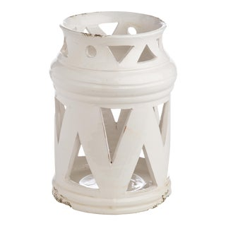 Puglia Lantern, White, Cutouts For Sale