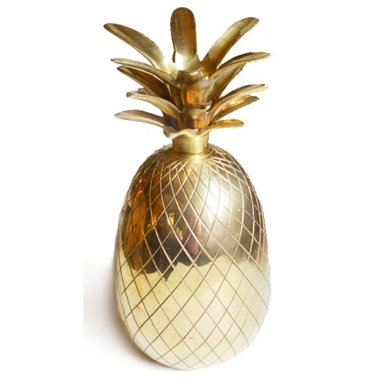 Brass Pineapple Candle Holder - Image 2 of 3