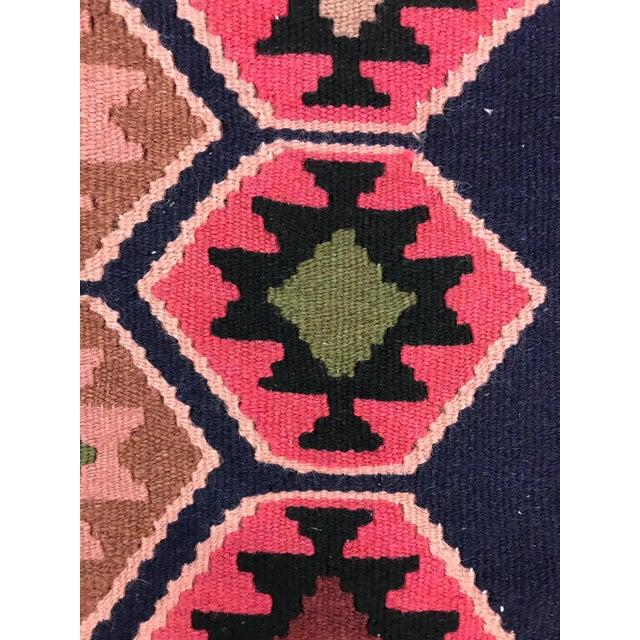 Turkish 1990s Vintage Handmade East Turkey Kilim Rug- 3′4″ × 5′8″ For Sale - Image 3 of 8