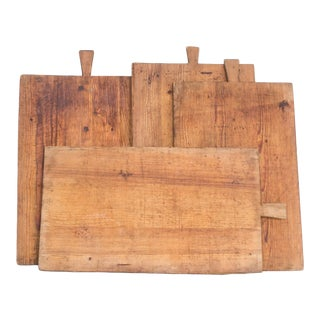 1930s German Cutting Boards - Set of 4 For Sale
