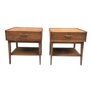 1960s American of Martinsville Mid-Century Modern End Tables - a Pair For Sale