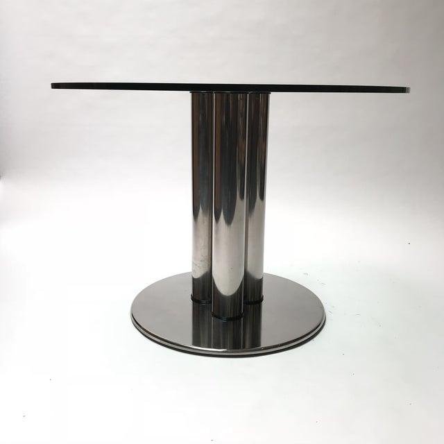 Art Deco Marcuso Dining Table for Zanotta For Sale - Image 3 of 13