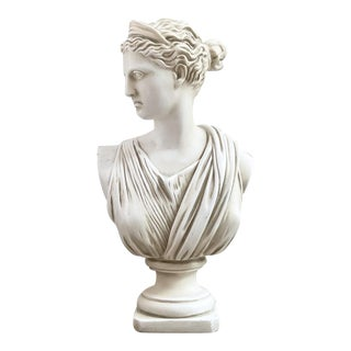 1970s Vintage Diana of Versailles Bust For Sale
