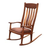 Image of Vintage Mid Century Studio Crafted Rocking Chair For Sale