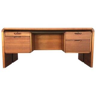 Midcentury Teak Desk For Sale