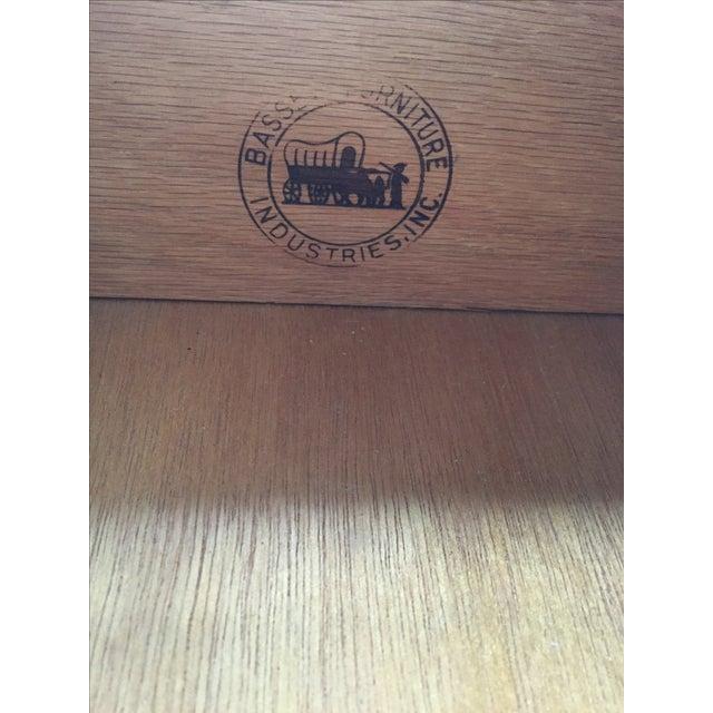 Bassett Mid-Century Walnut Desk - Image 5 of 6