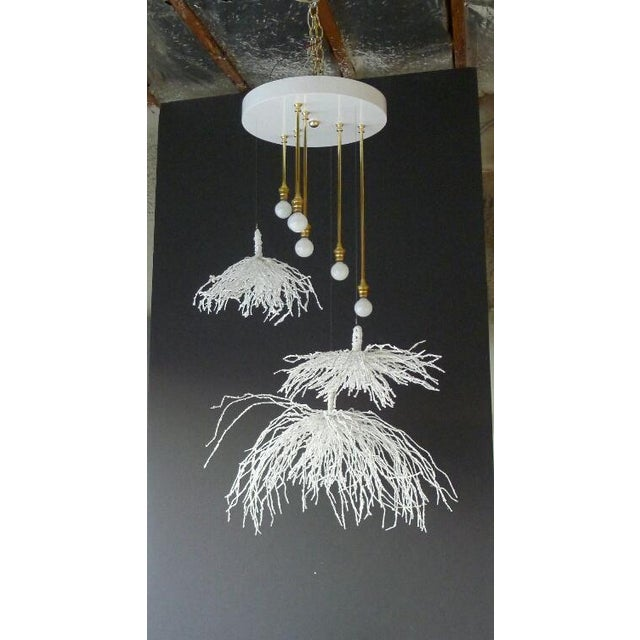 Paul Marra Sage Pendant - Chandelier. Handmade, sculptural quality. Currently the one as shown is available. Due to the...