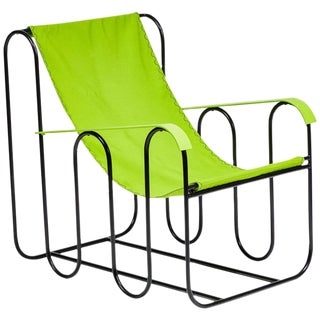 """Jean Royère Style """"Ondulation"""" Lounge Chair For Sale"""