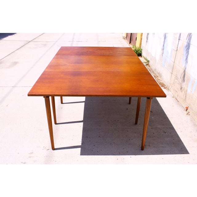 1960's Henredon Gateleg Drop-Leaf Dining Table For Sale In San Diego - Image 6 of 11
