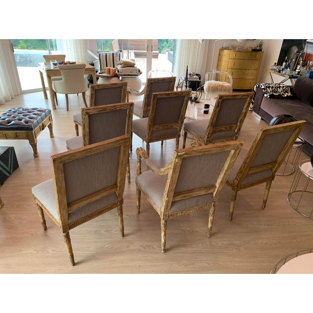 Nancy Corzine Chairs - Set of 8 For Sale - Image 12 of 13