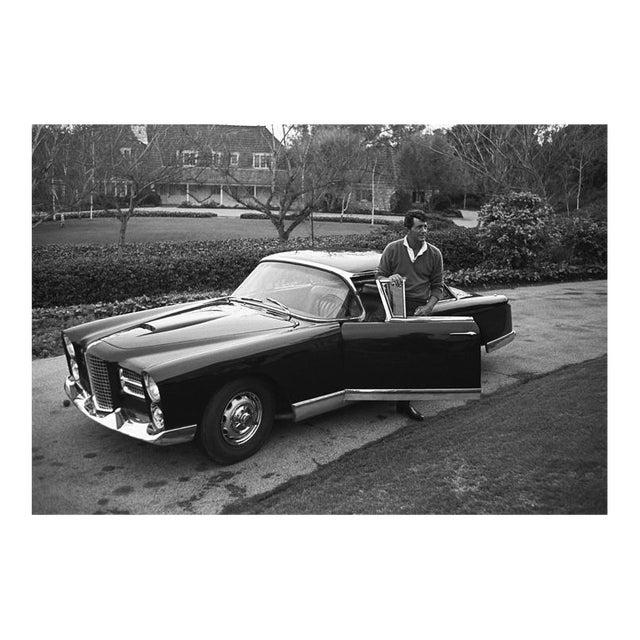 Dean Martin and His Facel Vega Hk500 1961 For Sale