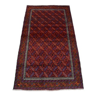 Traditonal Afghan Hand Knotted Rug For Sale