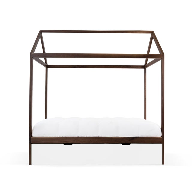 The Domo Zen Full Canopy Bed with Trundle. Custom craftsmanship designed to last for generations and grow with your...