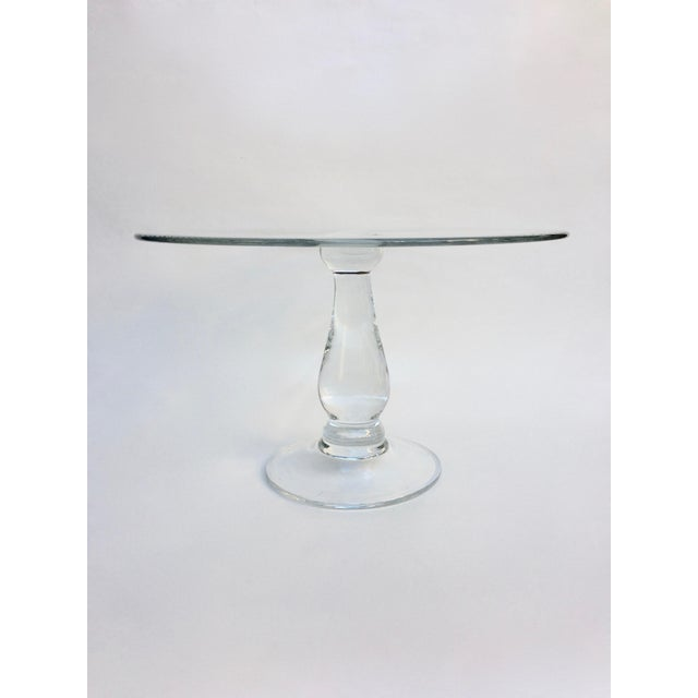 Tall Glass Cake Stand - Image 3 of 4