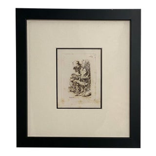 18th Century Rembrandt Etching #39, by Francesco Novelli For Sale