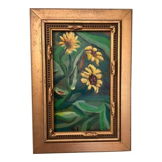 Sunflowers Original Oil Painting For Sale
