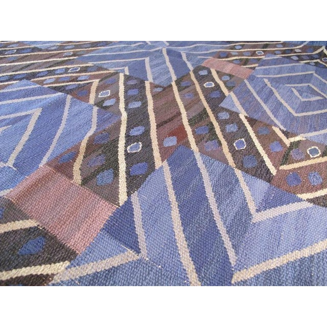 Textile Marta Maas-Fjetterstrom Flatwoven Carpet For Sale - Image 7 of 10