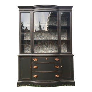 Basset Monticello Bowfront China Cabinet
