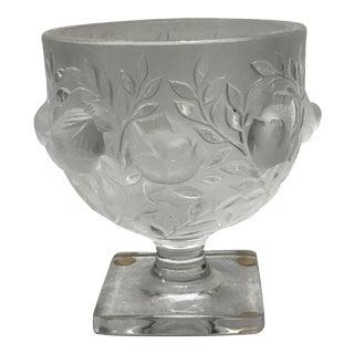 """Lalique """"Elizabeth"""" Crystal Vase"""