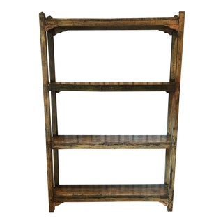 1960s Boho Chic Style Painted Bookshelf For Sale