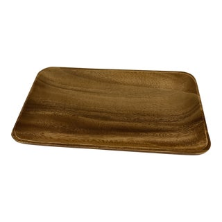 1970s Wood Tray For Sale