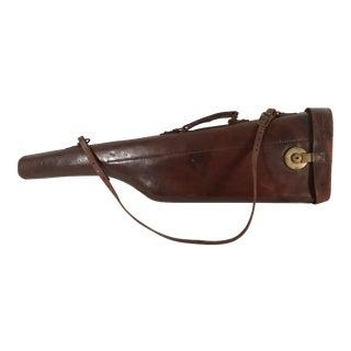 20th Century Lodge Leather Gun Scabbard For Sale
