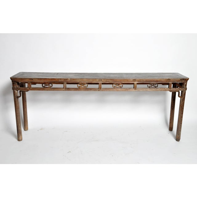Qing Dynasty Altar Table with Rounded Legs and Original Lacquer - Image 4 of 11