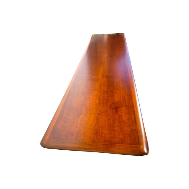 Danish Style Coffee Table: 1960s Long Danish Style Coffee Table