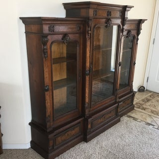 19th Century Victorian Bookcase/Display Cabinet Preview