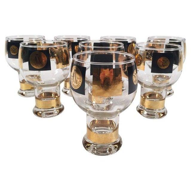Fostoria Fostoria Coin Glassware - Set of 8 For Sale - Image 4 of 8